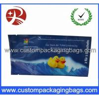 China Printed Plastic Food Packaging Bags , Side Gusset Wet Wipes Tissue Packaging Bag on sale