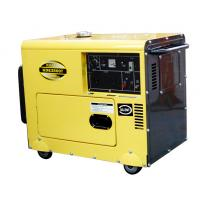 Buy cheap Weatherproof Small Diesel Generators Low Fuel Consumption With Air Cooled Petrol Engines product
