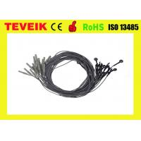 Buy cheap Black Color EEG cable,DIN1.5 socket,1m,silver chloride plated silver product
