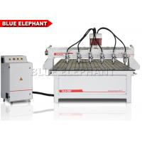 China Taiwan doublenut ball screw,imported square guide rail , Cheap 4 Axis CNC Rotary Table Foam Cutting Machine on sale