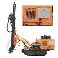 Buy cheap DTH Rock Well Drill Rig KG430SH Punching Machine For Hard Rock Rotary Drilling Rig product