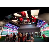 Buy cheap Customized Foldable Led Screen Soft LED Module Indoor Shape Creative Screen product