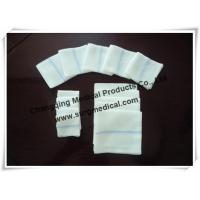 Buy cheap Softness High Absorbency Medical Cotton Gauze Swabs for Surgical Wound Cleaning product