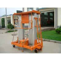 Buy cheap Aluminum alloy mobile hydraulic lift platform / Equipment 100kg 150kg for hotel , airport product