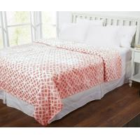 100% Polyester Super Soft Flannel Print Blanket For Home Bedding And Sofa