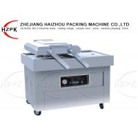 Buy cheap 800 W Double Chamber Vacuum Packaging Machine , Industrial Food Vacuum Sealer product
