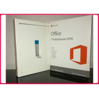 Buy cheap Microsoft Office Professional Plus 2016  Retail Pack With 3.0 Usb Flash Drive 32/64 Bit For Windows product