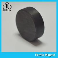 Buy cheap High Magnetic Strong Ferrite Disc Magnets For Google Carboard / Fridge product