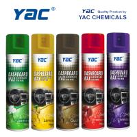 Buy cheap Car Care Car Dashboard Wax Aerosol Spray with High Shine for Leather Cleaning product