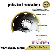 Buy cheap Titanium BIM saw for oscillating tool use for wood cutting wood with nail board with nails cutting at good price from wholesalers