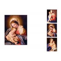 Buy cheap 0.6mm PET Flip Religion Virgin Mary / Jesus 3D Lenticular Images For Wall Decro​ product