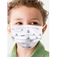 Buy cheap Children'S Face Mask / 3 ply ear-loop kids disposable protective face mask product