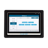 Buy cheap 7  Inch 4 Wires Resistive Touch Screen HMI With PLC Integrator For Boiler product