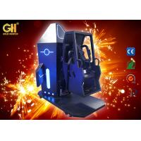 China 720 Space Flip Virtual Reality Simulator Gold Hunter Space Chair For Theme Park on sale