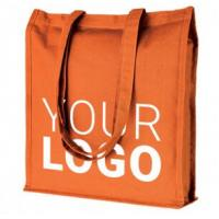 Buy cheap Handle promotional plain white cotton tote bag with custom logo cotton fabric bag,Hot Custom Logo Printed Cotton Canvas product