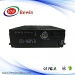 4 vídeo do registrador do sistema de segurança interna do CARTÃO MDVR 3G 4G GPS Wifi de VGA 720P Ahd SD do canal para o carro