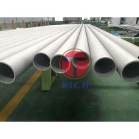 Buy cheap Heat Exchanger Stainless Steel Precision Tubing / Stainless Steel Boiler Tubes product