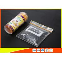 Buy cheap High Clarity Resealable Resealable Freezer Bags For Frozen Food product