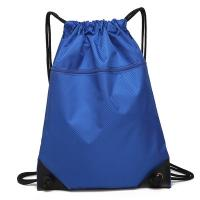 Buy cheap Eco Friendly Outdoor Waterproof Bag / Drawstring Backpack With Front Zipper Pocket product