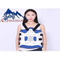 Buy cheap Adjustable Lumbar Support Brace Plastic Thoracolumbar Fixation Support from wholesalers