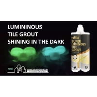 Buy cheap Green Luminous Tile Grout , Mildew Resistance Epoxy Grout For Swimming Pools product