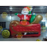 Buy cheap Giant Inflatable Balloon Santa Claus For Christmas Decoration product