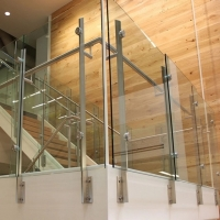 Buy cheap Moden design Aluminum Balcony 6005 6060 Vertical Wire Balustrade product