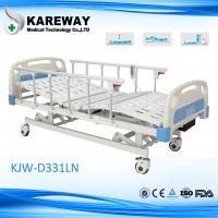 China 3 Motors Homecare Hospital Beds , Hospital Adjustable Bed With Control Box wholesale