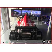 China Attractive Vr F1 Car Racing Simulator 9D Virtual Reality Driving Platform With 3 Screens on sale