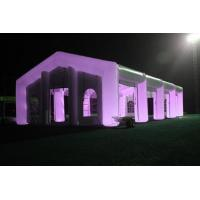 China Durable Fire Resistant Lighting Inflatable Party Tent For Wedding wholesale