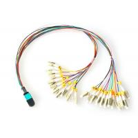 Buy cheap FTTH MPO - LC Fiber Optic Patch Cord OM3 OM4 Patch Cord Multi-mode product