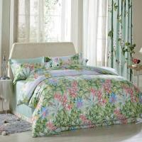 Buy cheap Luxury Beautiful Home Bedding Sets Twin Size / Queen Size Silk Material from wholesalers