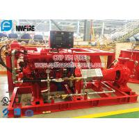 Buy cheap Firefighting Use Horizontal End Suction Diesel Engine Driven Fire Pump Set product