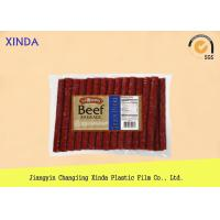 Buy cheap NY / PE Clear Window Food Vacuum Bags with 3 Layer Co Extruded Film Logo Printing product