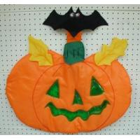 China Sewn Stuff W2109 - Bat on Pumpkin wholesale