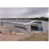 Buy cheap Fire Proof Stable Pre Engineered Buildings , H Beams Steel Frame Shed Easy To Install product