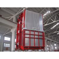 Buy cheap 1 ~ 34m / min 2t construction hoist elevator 3*11kw WITH Wire Rope for brige product