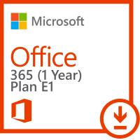 Plan E1 Office 365 Key Code Subscription For One Year License Enterprise