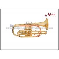 Buy cheap Brass Musical Instruments , Y style Brass Lacquer Bb Key Stainless steel China from wholesalers