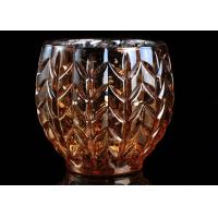 Buy cheap Sliver Electroplating Color Bowl Glass Tealight Candle Holder Votive Soy Wax product