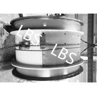 Buy cheap Heavy Steel Wire Rope Winch Drum With Lebus Double Broken Line Rope Groove product