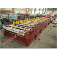 Buy cheap Cameroun Aluzinc Roofing Sheet Roll Forming Machine With Electric Decoiler product