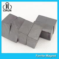 Buy cheap Strong Block Shaped Ceramic Ferrite Magnets C5 Grade For Industrial Use product