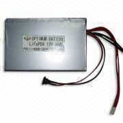 Buy cheap Waterproof  Low-Discharge Lithium Ion Motorcycle Battery 500mah 12v product