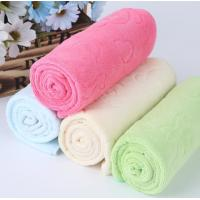 Buy cheap Embossed Face Kitchen Tea Towels Soft Suction Multi Color With Takehara Fiber product