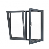 Buy cheap ODM Aluminum Tilt And Turn Windows , Horizontal Double Tempered Glass Window product