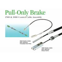 China Control Cables Pull - Only Brake Cables With Threaded End Rod / Strap Clevis on sale