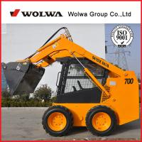 Buy cheap Wolwa GN700 Skid Steer Loaders with backhoe product