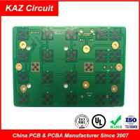 Buy cheap 2 layers fr4 printed circuit board 1.6mm 1oz ENIG with Carbon product