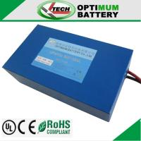 Buy cheap Maintenance-Free Rechargeable Lithium Battery For Aircraft 24v 400mah product